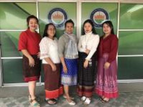 กิจกรรมสร้างวัฒนธรรมองค์การแต่งกายชุดไทยวันอังคาร